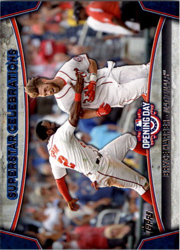 Photo of 2015 Topps Opening Day Superstar Celebrations #SC08 Bryce Harper