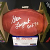 HOF - Seahawks Steve Largent Signed Authentic Football