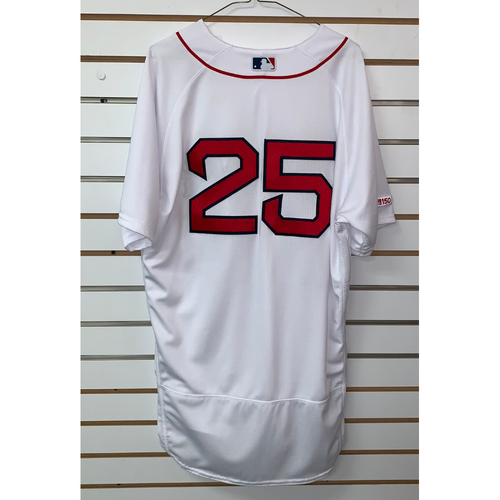 Photo of Steve Pearce Team Issued 2019 Home Jersey