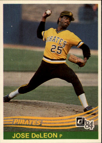 Photo of 1984 Donruss #628 Jose DeLeon RC