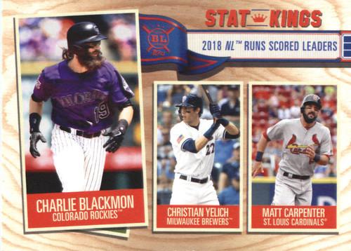 Photo of 2019 Topps Big League #346 Matt Carpenter/Christian Yelich/Charlie Blackmon