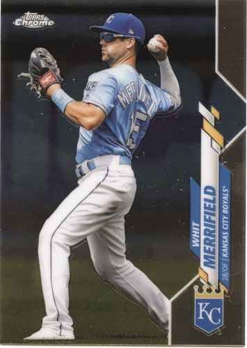 Photo of 2020 Topps Chrome #154 Whit Merrifield