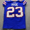 Crucial Catch - Bills Micah Hyde Game Used Jersey (10/15/20) Size 38