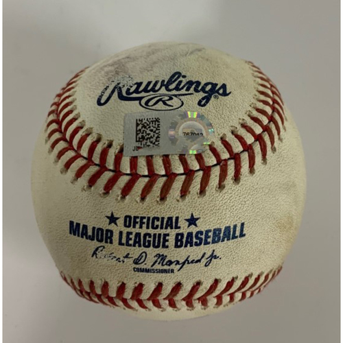 Photo of Game-Used Baseball - 8/23/2020 - Beau Taylor Foul Ball off Daniel Norris