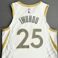 Wesley Iwundu - Dallas Mavericks - Game-Worn - City Edition Jersey - 2020-21 NBA Season