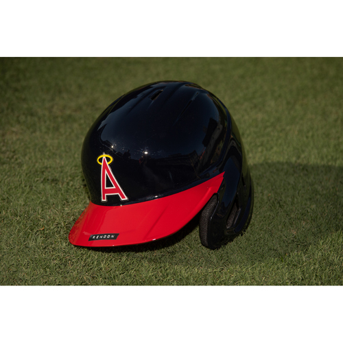 Photo of Anthony Rendon Team Issued 70's Throwback Helmet