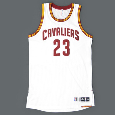low priced 102d9 7500c lebron james game worn jersey