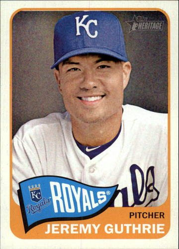 Photo of 2014 Topps Heritage #246 Jeremy Guthrie