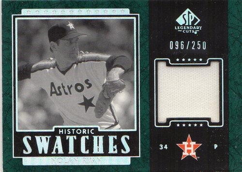 Photo of 2003 SP Legendary Cuts Historic Swatches Green #NR1 N.Ryan Astros Pants/250