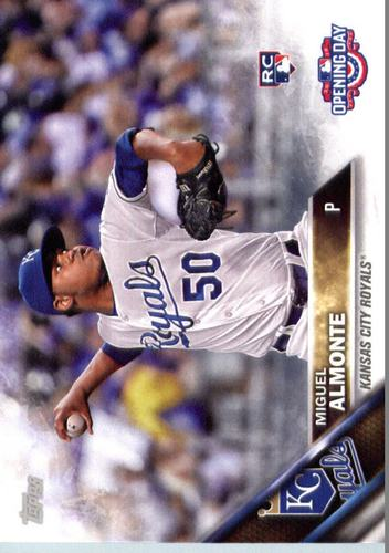 Photo of 2016 Topps Opening Day #OD142 Miguel Almonte RC
