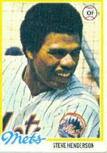 Photo of 1978 Topps #134 Steve Henderson RC