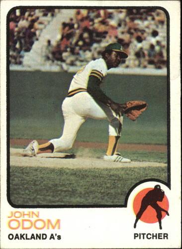 Photo of 1973 Topps #315 John Odom