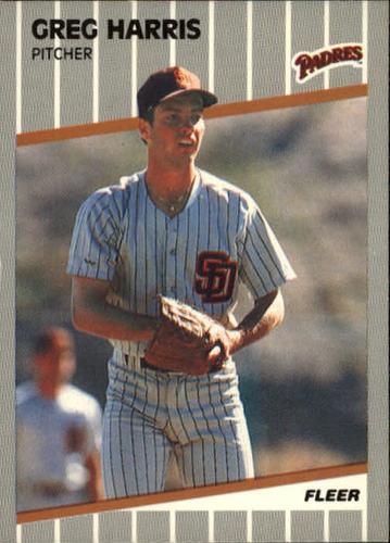 Photo of 1989 Fleer #306 Greg W. Harris RC