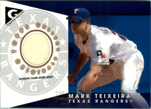 Photo of 2005 Topps Gallery Originals Relics #MT Mark Teixeira Jsy
