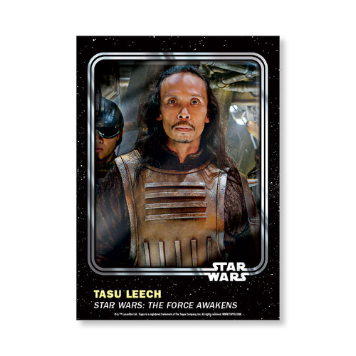 Tasu Leech 2016 Star Wars Card Trader Base Poster - # to 99