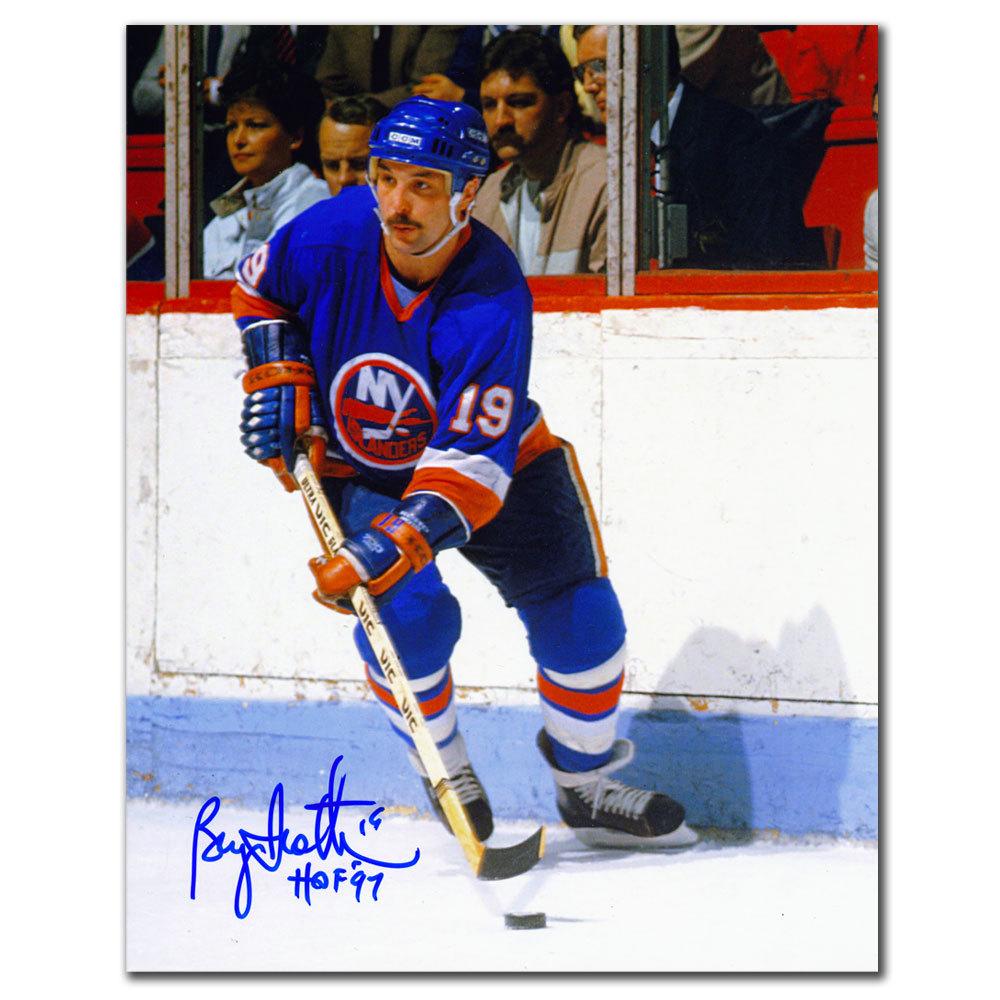 Bryan Trottier New York Islanders PLAYMAKER Autographed 8X10