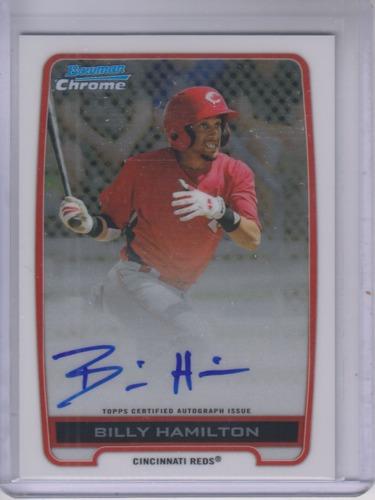 Photo of 2012 Bowman Chrome Prospect Autographs Billy Hamilton