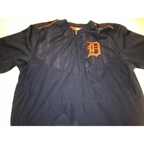 Photo of Team-Issued Road Batting Practice Jacket: #41