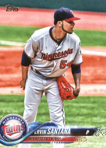 Photo of 2018 Topps #49 Ervin Santana