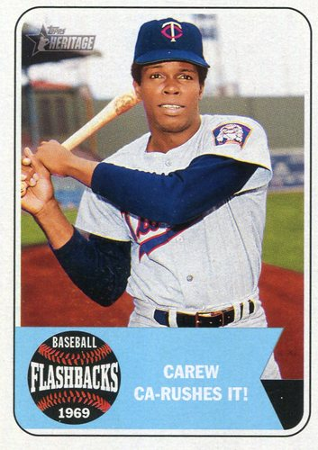 Photo of 2018 Topps Heritage Baseball Flashbacks #BFRC Rod Carew