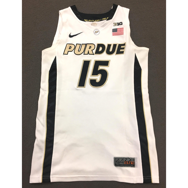 Photo of Moses #15 Purdue Women's Basketball 2011-12 White Jersey