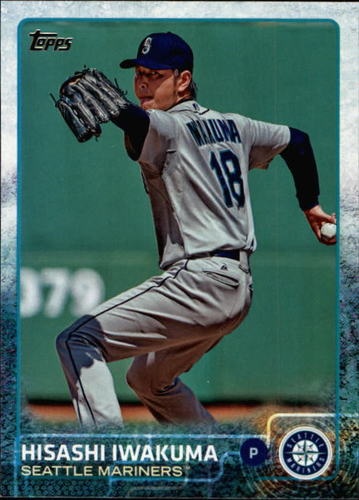 Photo of 2015 Topps #391 Hisashi Iwakuma
