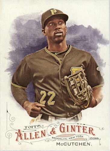 Photo of 2016 Topps Allen and Ginter #183 Andrew McCutchen