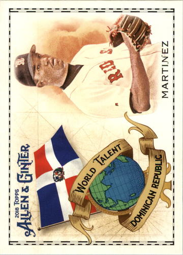 Photo of 2018 Topps Allen and Ginter World Talent #WT20 Pedro Martinez
