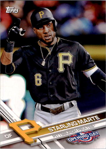 Photo of 2017 Topps Opening Day #101 Starling Marte