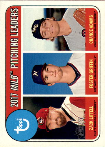 Photo of 2018 Topps Heritage Minors #198 Chance Adams/Zack Littell/Foster Griffin