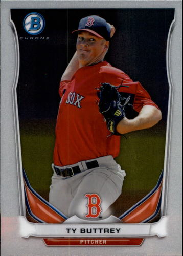 Photo of 2014 Bowman Chrome Prospects #BCP30 Ty Buttrey