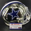HOF - Cowboys Bob Lilly Signed Chrome Proline Helmet