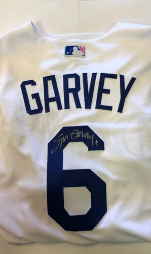 Photo of Steve Garvey Autographed Los Angeles Dodgers Authentic Jersey