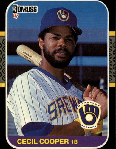 Photo of 1987 Donruss #363 Cecil Cooper
