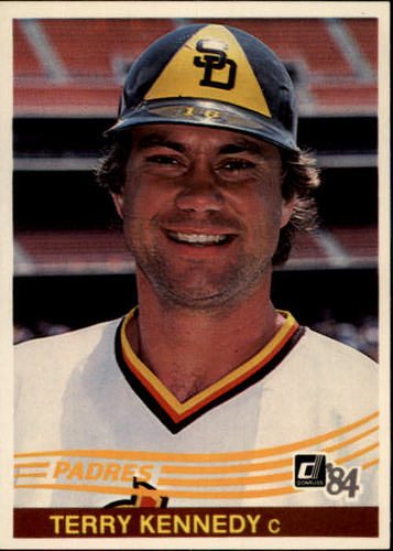 Photo of 1984 Donruss #112 Terry Kennedy