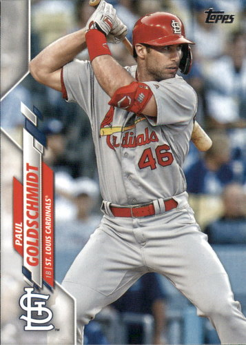 Photo of 2020 Topps #145 Paul Goldschmidt