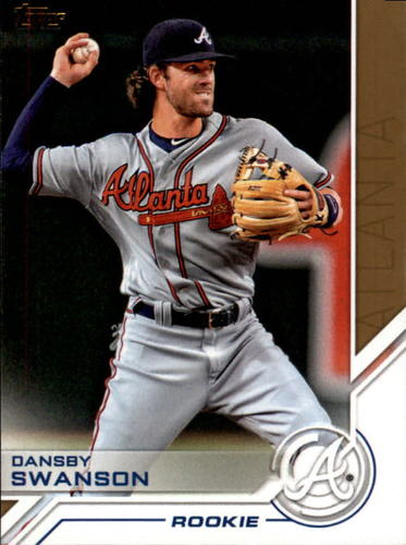 Photo of 2017 Topps Salute #S75 Dansby Swanson
