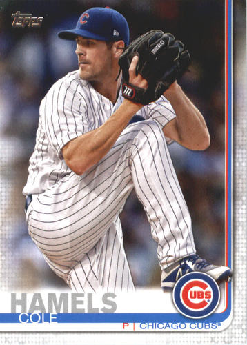 Photo of 2019 Topps #540 Cole Hamels
