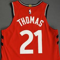 Matt Thomas - Toronto Raptors - Game-Worn Icon Edition Jersey - NBA Japan Games - 2019-20 NBA Season