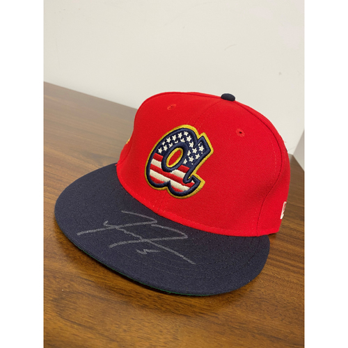Photo of Freddie Freeman MLB Authenticated Augographed Hat (Size 7 1/4)