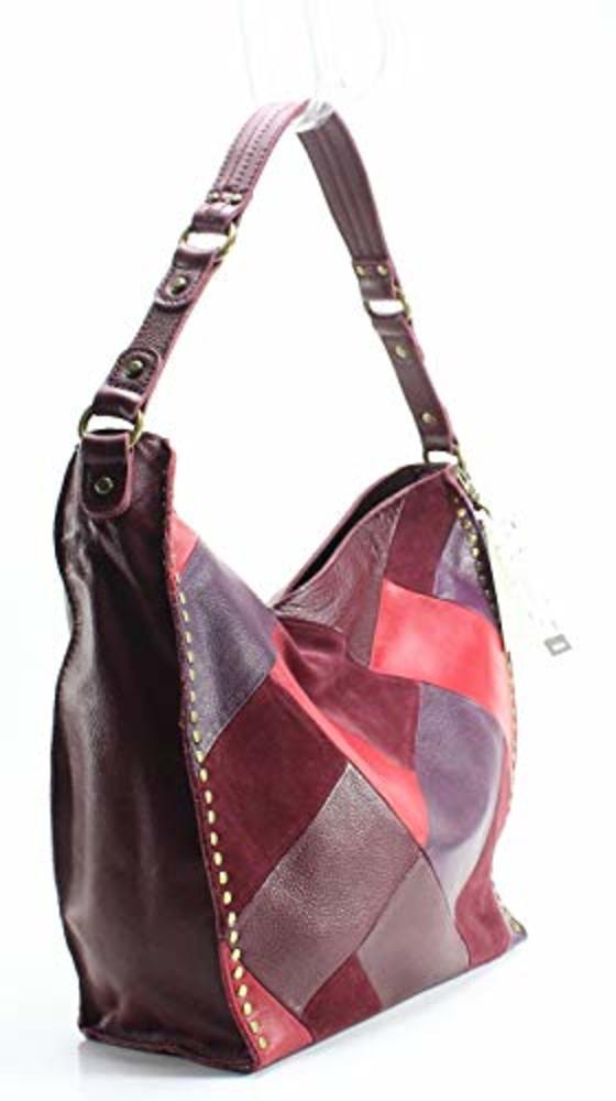 Photo of The Sak Silverlake Patchwork Leather Hobo Shoulder Bag