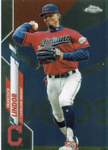 Photo of 2020 Topps Chrome #156 Francisco Lindor
