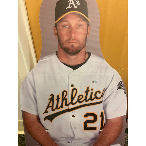Photo of Oakland A's Community Fund: Mark Kotsay Coliseum Cutout
