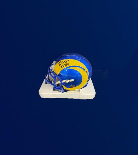 Photo of 2021 7th Round Draft Pick - Jake Funk Signed Mini-Helmet