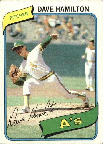 Photo of 1980 Topps #86 Dave Hamilton