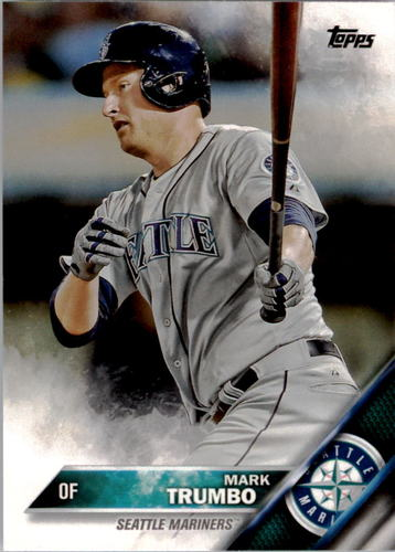 Photo of 2016 Topps #39 Mark Trumbo