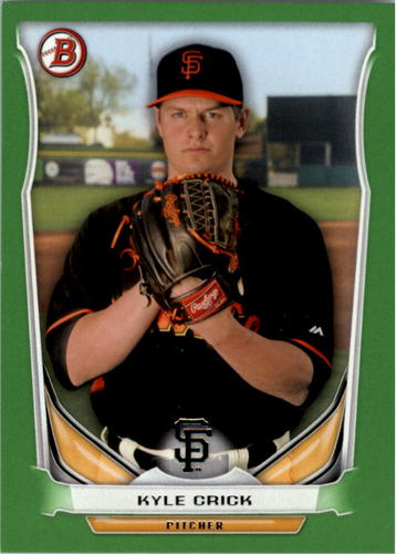 Photo of 2014 Bowman Draft Top Prospects Green #TP63 Kyle Crick