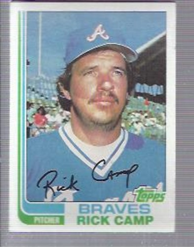 Photo of 1982 Topps #637 Rick Camp