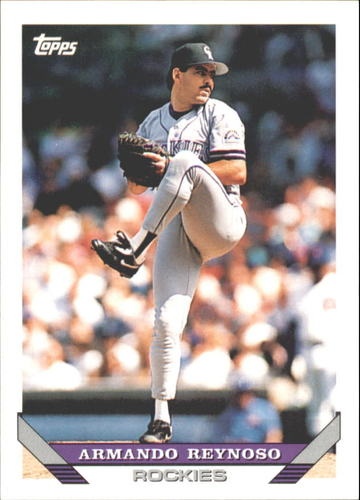 Photo of 1993 Topps Traded #116T Armando Reynoso