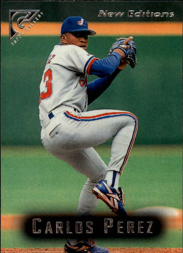 Photo of 1996 Topps Gallery #98 Carlos Perez